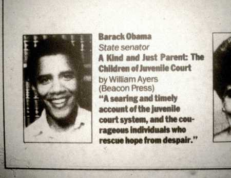 Obama Blurb on Ayers Book