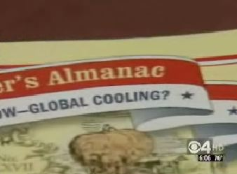 Farmer's Almanac Says It's Global Cooling