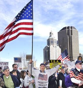 Hartford Rally: Middletown Press Photo