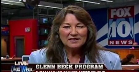 Janet Contreras on Glenn Beck Show