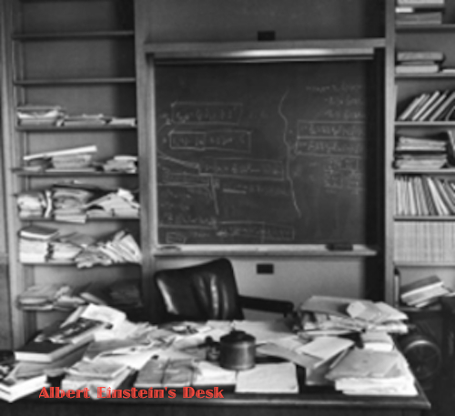 A Man and His Desk: Measurement of Genius? (1/5)